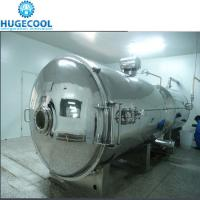 1 Year Warranty Vacuum Freeze Drying Machine For Fruits Seafood Manufactures