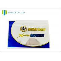 Glossy Finished Fishing Lure Packaging / Fishing Bait Pouch Zip Lock Reusable Manufactures