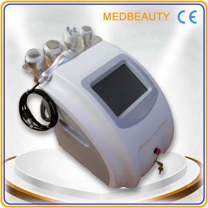 5 in 1 cavitation+tripolar rf+monopolar rf+vacuum body slimming&body shape machine with CE Manufactures