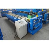 Rows of rollers 19 rows Roof Sheet Roll Forming Machine Manufactures