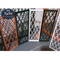Different Customized Color PVC Coated Wire Mesh Good Appearance With Frame Manufactures