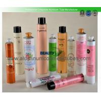 Body Lotion Collapsible Metal Tube , Beauty Empty Aluminum Cosmetic Tubes Manufactures