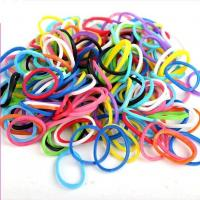 Customized Sports Silicone Bracelets Eco - Friendly Rainbow Looms With SGS Manufactures