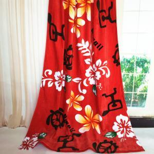 Woven Logo Oversized Beach Towels / Jacquard Bath Towels Folded Edge