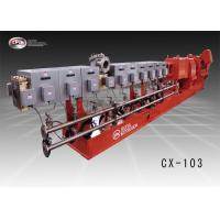 China 103mm Screw Diameter Twin Screw Extrusion Machine For Battery Separator Process on sale
