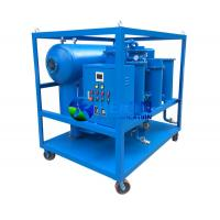 Vacuum Turbine Oil Filtration Machine with 1micron Fine Filter Element Manufactures