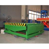 Fixed Hydraulic Truck Ramp Automatic Dock Levelers with Anti Skid Checkered Steel Plate Manufactures