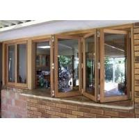 French Folding Glass Casement Windows Horizontal With Mosquito Screen Door Manufactures