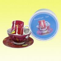 3-Piece Breakfast Set in Color Box, Ideal for Gifts Manufactures