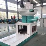 Automatic Lubrication 6-12mm Size Wood Pellet Machine SZLH560