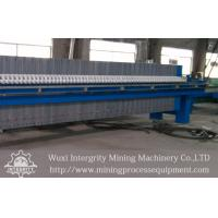 Quality Mineral Industry Plate And Frame Filter Press,Sludge Dewatering Pressure Filter for sale