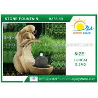 Outdoor Cast Stone Garden Fountains Decorative High Grade Nontoxic Multi Style Manufactures