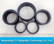 72mm O.D x 39mm I.D x 10mm thick Y30BH Ferrite Ring Magnet Manufactures