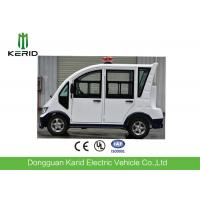 R12 Vacuum Tire Light Weight Electric Patrol Car With Rear LED Screen Manufactures