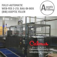 Fully-automatic BIB Dairy Cream Filling Machine Bag in Box Aseptic Filler for sale
