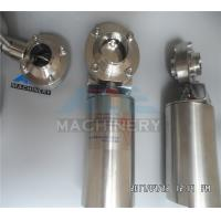 Stainless Steel 304 316L Tri Clamp Manual/ Pneumatic Sanitary Butterfly Valve Manufactures