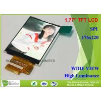 "Buy cheap SPI Interface 14 Pin TFT Small LCD Screen 1.77"" Active Area 28.03 * 35.04mm from wholesalers"