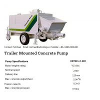 trailer concrete pump Manufactures