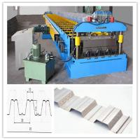 Chain Drive System Floor Deck Roll Forming Machine For Galvanized Cold  Steel Sheet Manufactures