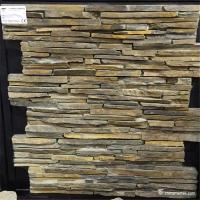 Natural Stone Wall Cladding With Cement Backed High Temperature Resistant Manufactures