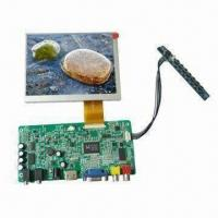 5.6-inch TFT LCD Modules with AV/VGA/HDMI Input Touch for Industrial Applications, DC 12V Input Manufactures