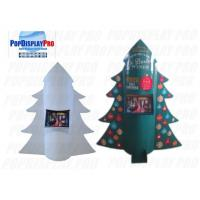Auto-pop up Display Stand Christmas Tree Shaped POS with 2 Trays for Sale Calendars 15 Days to Deliver Manufactures