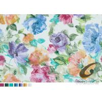 Mordern Flower Transfer Printing Paper For 100% Polyester Sofa Bedding Curtain Fabrics Manufactures