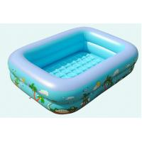 China Family and Kids Inflatable Rectangular Inflatable Pool Children Play Pool Children's Inflatable Pool Baby Swimming Pool on sale