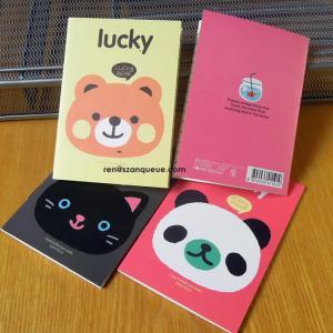 China factory custom design mini notebook printed cartoon notebook Manufactures
