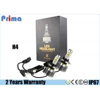 China H4 H / L LED Headlight Bulb 30W Power 3000lm Lumen IP68 Waterproof on sale