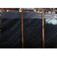 Black Wood Vein Marble Slabs & Tiles, China Black Marble for floor Manufactures