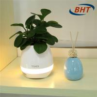 High - Tech Wireless Plastic Flower Pots Rechargeable Battery Piano Sound Play Manufactures