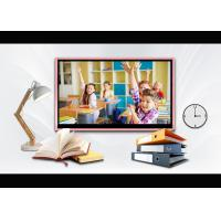UHD 4k 75 Inch Touch Screen Board For Schools Multiple Signal Interfaces Manufactures