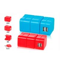 Removable Combined European Travel Adapter Plug With Usb Power Outlet  Manufactures