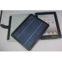 China Adjustable stand Apple Tablet PC 5W Ipad Solar Charger Case / Cases + Bluetooth keyboard on sale