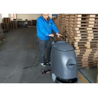 Plastic Walk Behind Floor Scrubber With Electric Cable For Can Factory Manufactures
