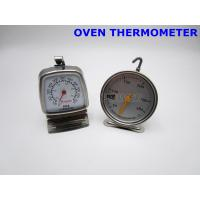 China Oven Probe Thermometer THR02-000 , Spiral Coil Spring Dial Stem Thermometer on sale