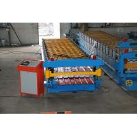 China Steel  Sheet Roll Forming Machine PPGI GI IBR Trapezoid , Roof Sheet Rolling Machines on sale
