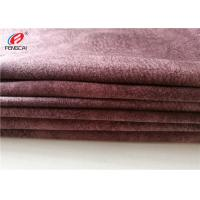 100 Waterproof Garment Micro Suede Polyester Fabric For Jacket , Customized Color Manufactures