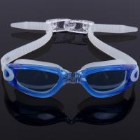 Custom Mould Proof Anti Fog Swim Goggles For Kids With Silicone Head Strap Manufactures