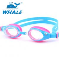 UV Lens Kids Swimming Goggles Clear View High Definition With Silicone Strap Manufactures