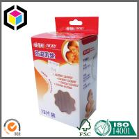 Glossy CMYK Full Color Offset Print Cardboard Carton Box; Hanging Tab Paper Box Manufactures