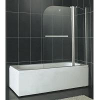 SGCC Certification Pivot Shower Enclosure 6MM Tempered Glass With One Fixed Panel Manufactures