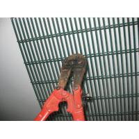 358 Fence Security Wire Mesh Fence PVC Coated Galvanized 4 . 0 MM Wire Diameter Manufactures