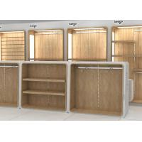 MDF Veneer Wood Children'S Store Fixtures Decorated With Nice LED Lighting Manufactures
