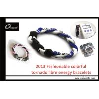 Adjustable Size Rope Braided Color Power Balance Silicone Bracelet at a good price Manufactures