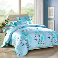 Buy cheap Modern 4pcs Home Bedroom Bedding Sets 100 Percent Cotton Fabric Tancel Duvet from wholesalers