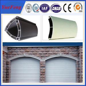 Quality extruded aluminium profiles prices per kg/coiling door,shutter door aluminium for sale