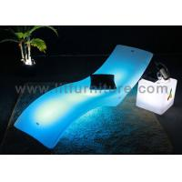 Plastic Highlight Outdoor Chaise Lounges Rechargeable With CE RoHS UL Approved Manufactures