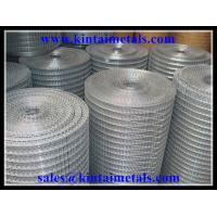 """1/2"""" galvanized square wire mesh after welding Manufactures"""